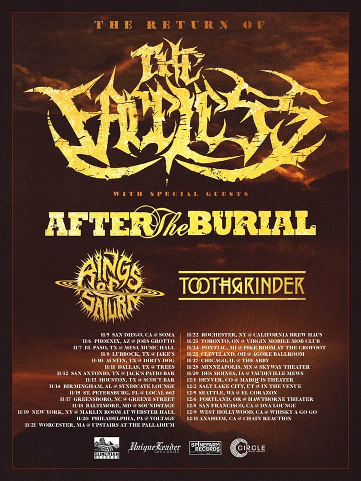 The Faceless Tour